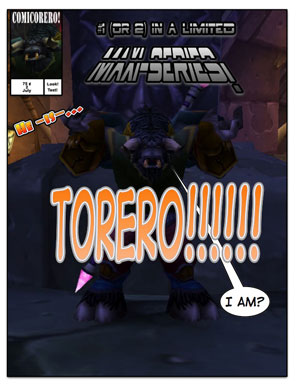 Torero: The Comic!